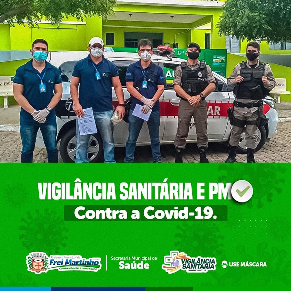 Vigilância Sanitária e Polícia intensificam fiscalização